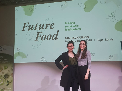 GreenBytes came home winners from the Future of Food Hackathon, in  Riga, Latvia. The solution we developed tackled three of the four topics – circular shift, food waste, and digitization.  We got the opportunity to develop our current customer experience and collaborate with other experts who added value to our experience.