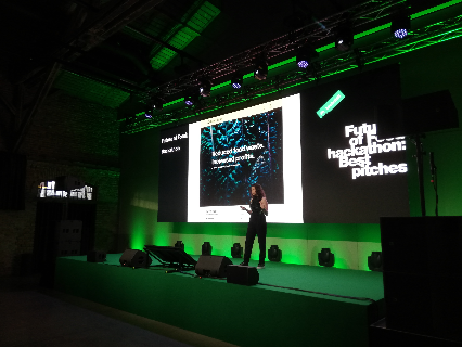 GreenBytes pitched at the TechChill conference in Riga, Latvia. TechChill is a conference that brings together tech startups and investors. This event allowed companies to showcase their innovations and educated attendees about groundbreaking new technology. We are happy to have participated as part of our Future of Food Hackathon prize.